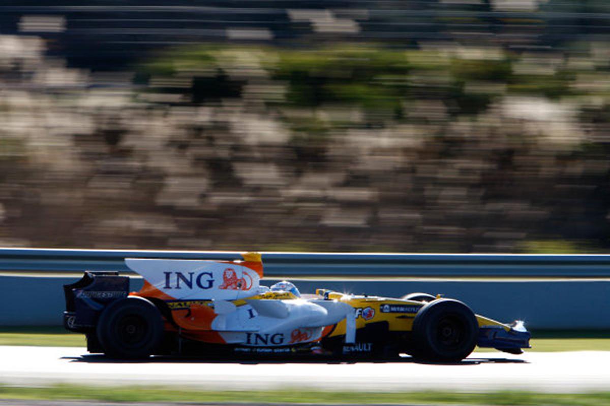 ルノー R28(2008年)②   フェルナンド・アロンソ 歴代F1マシン