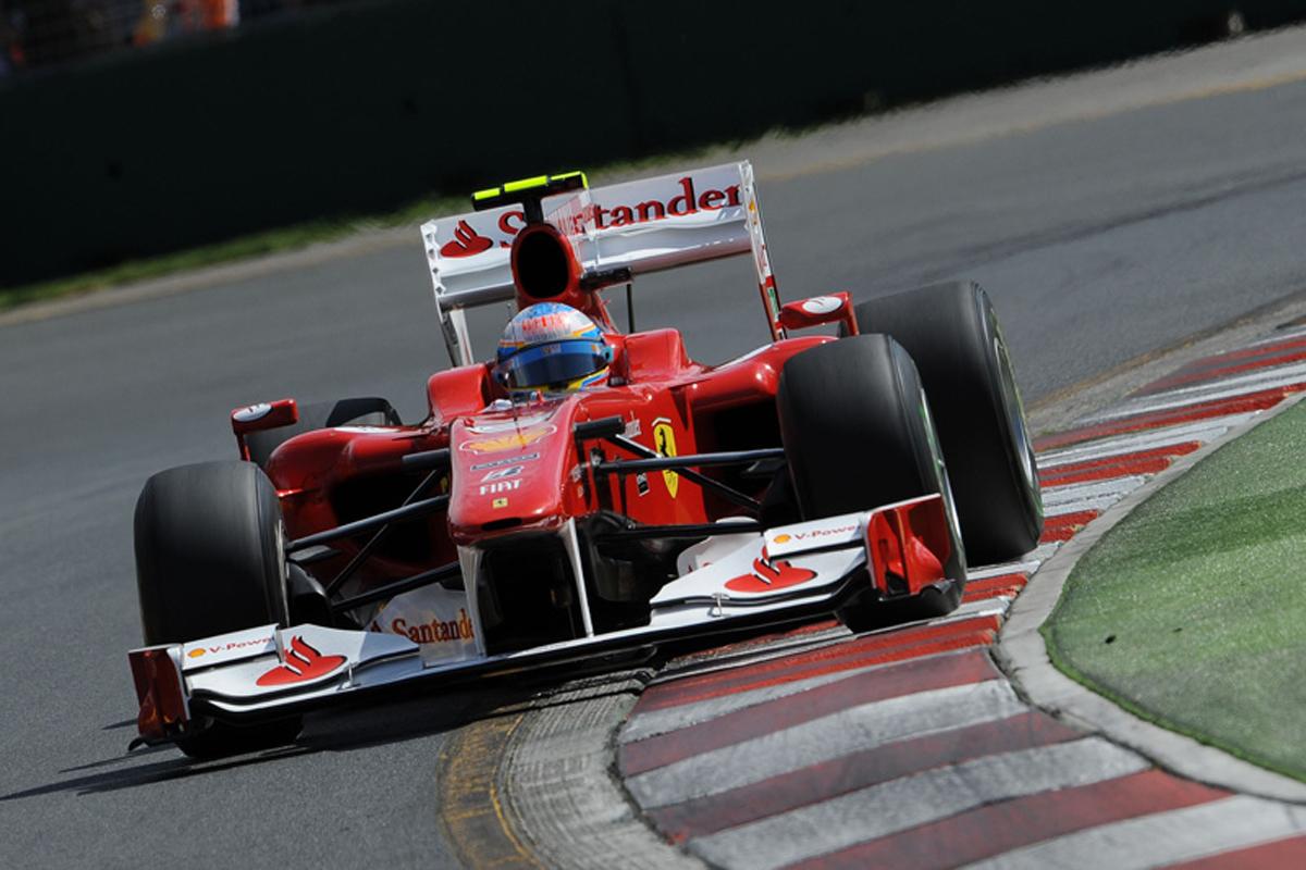 フェラーリ F10 (2010年) | フェルナンド・アロンソ 歴代F1マシン
