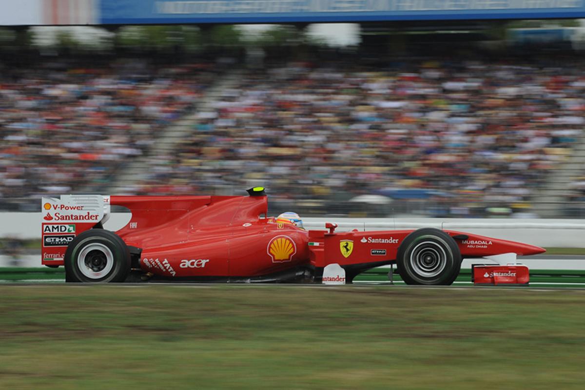 フェラーリ F10 (2010年)② | フェルナンド・アロンソ 歴代F1マシン