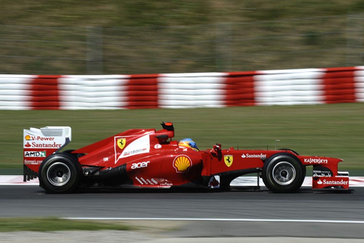 フェラーリ F2012 (2012年)② | フェルナンド・アロンソ 歴代F1マシン