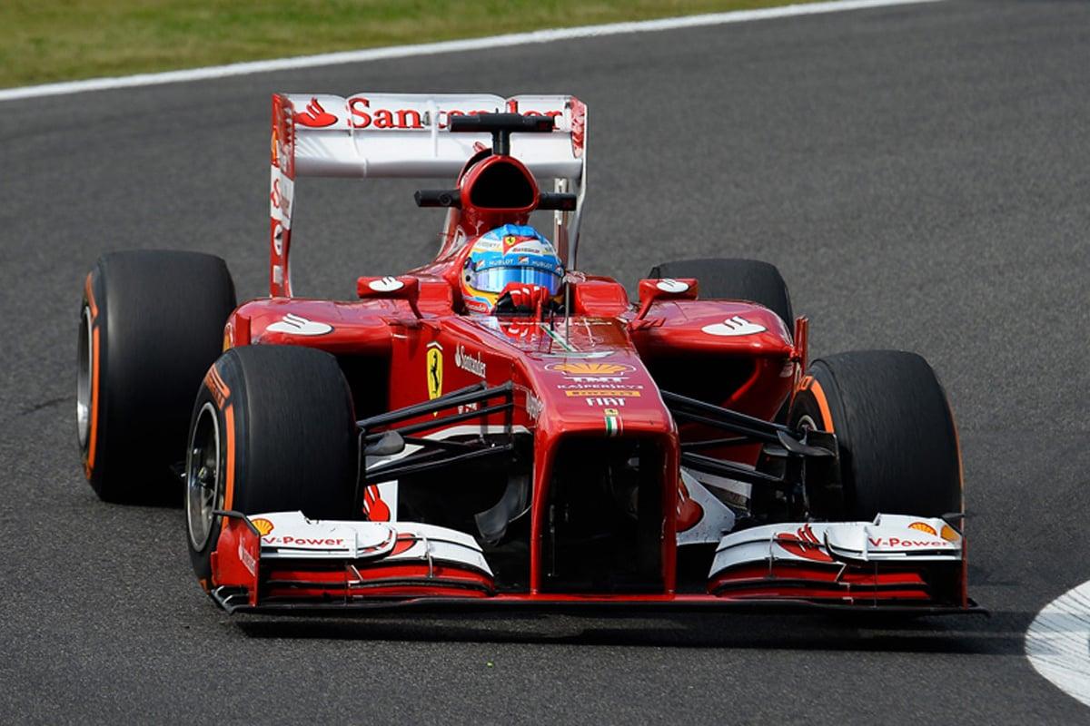 フェラーリ F138 (2013年) | フェルナンド・アロンソ 歴代F1マシン