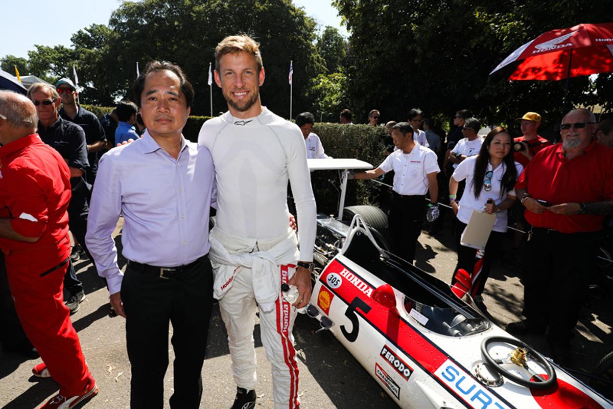 F1 ホンダF1 ジェンソン・バトン
