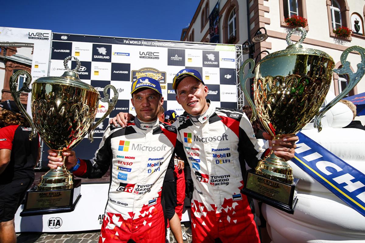 WRC ラリー・ドイチェランド オット・タナック