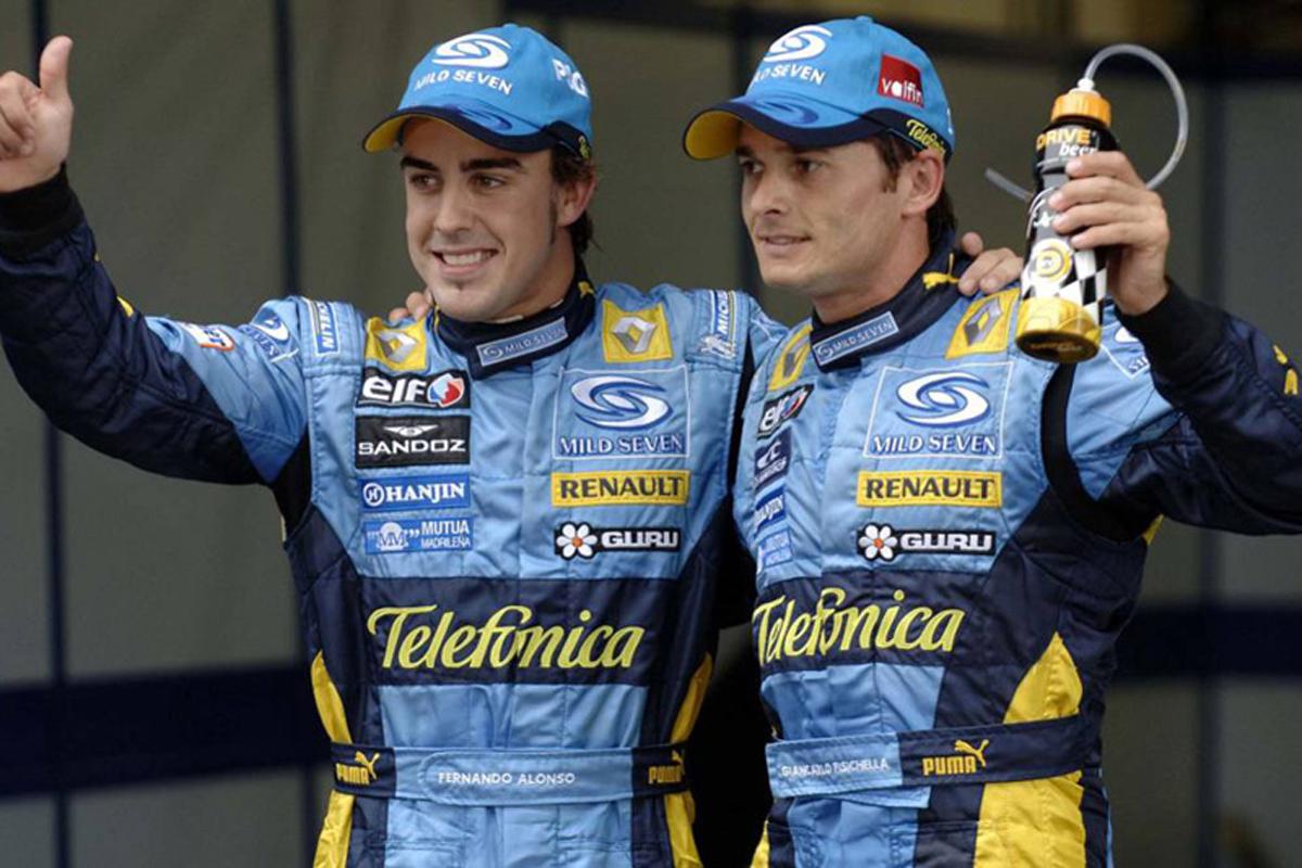 F1 フェルナンド・アロンソ ジャンカルロ・フィジケラ