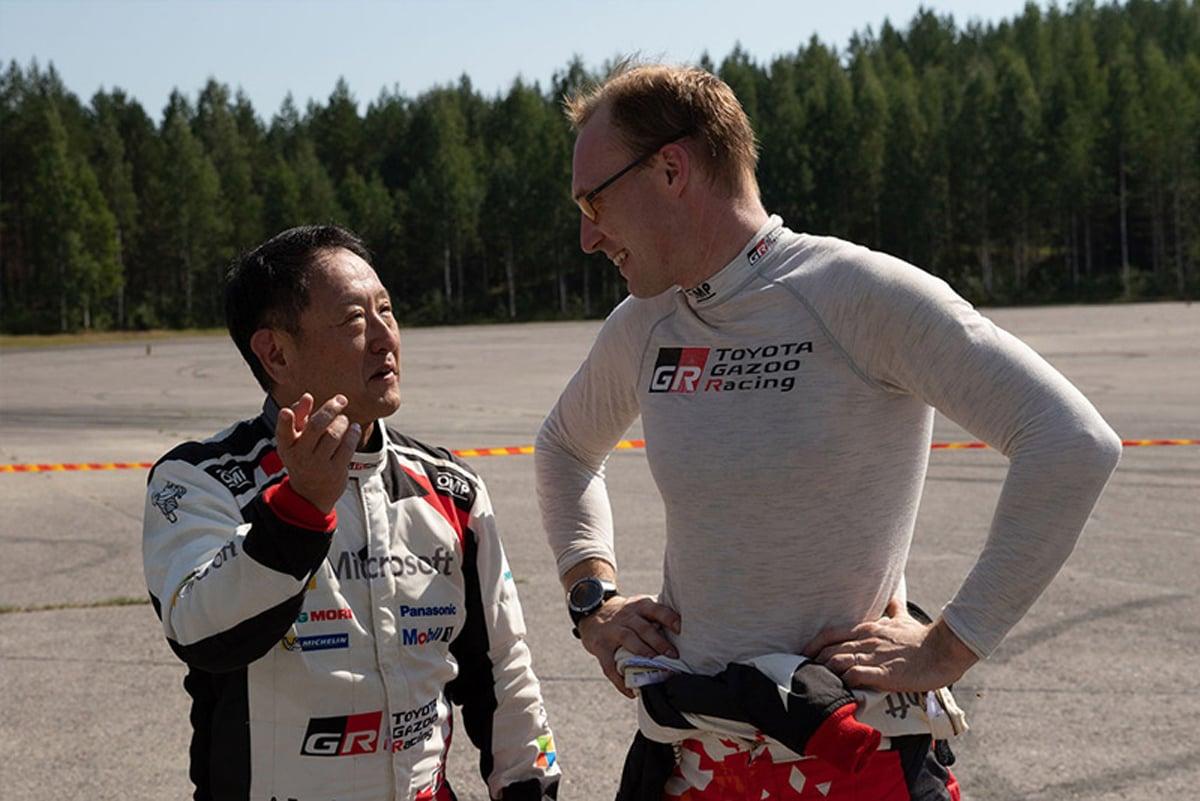 トヨタ自動車 豊田章男 WRC