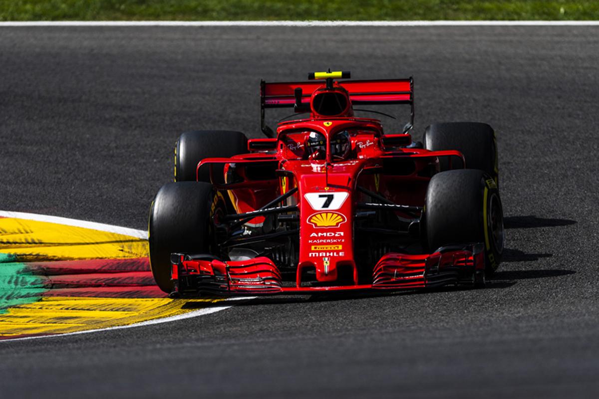 F1 ベルギーGP FP2