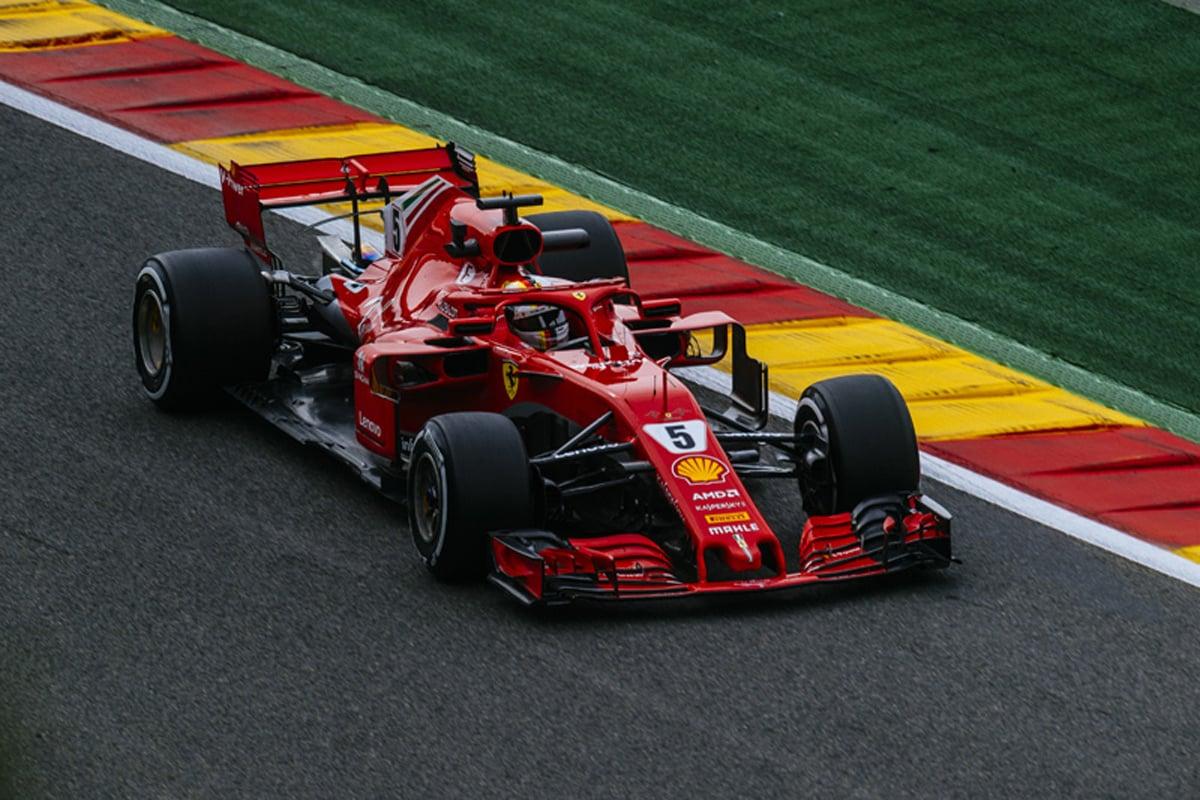 F1 ベルギーGP FP3