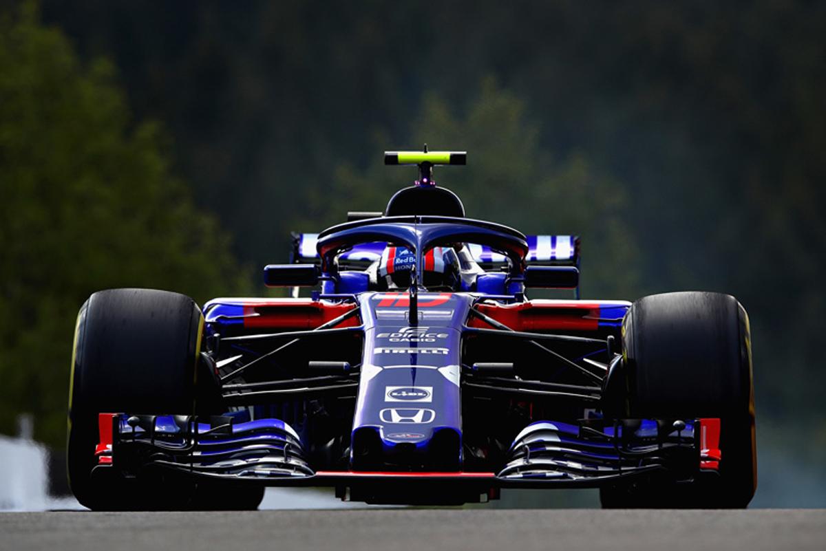 F1 トロロッソ・ホンダ ベルギーGP