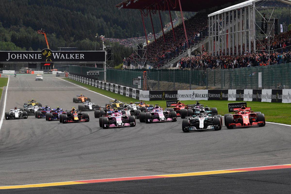 F1 ベルギーGP 結果