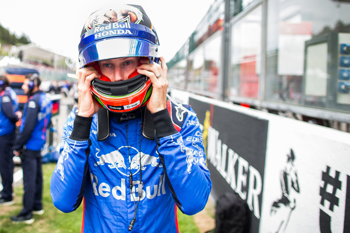 F1 ブレンドン・ハートレー トロロッソ・ホンダ ベルギーGP
