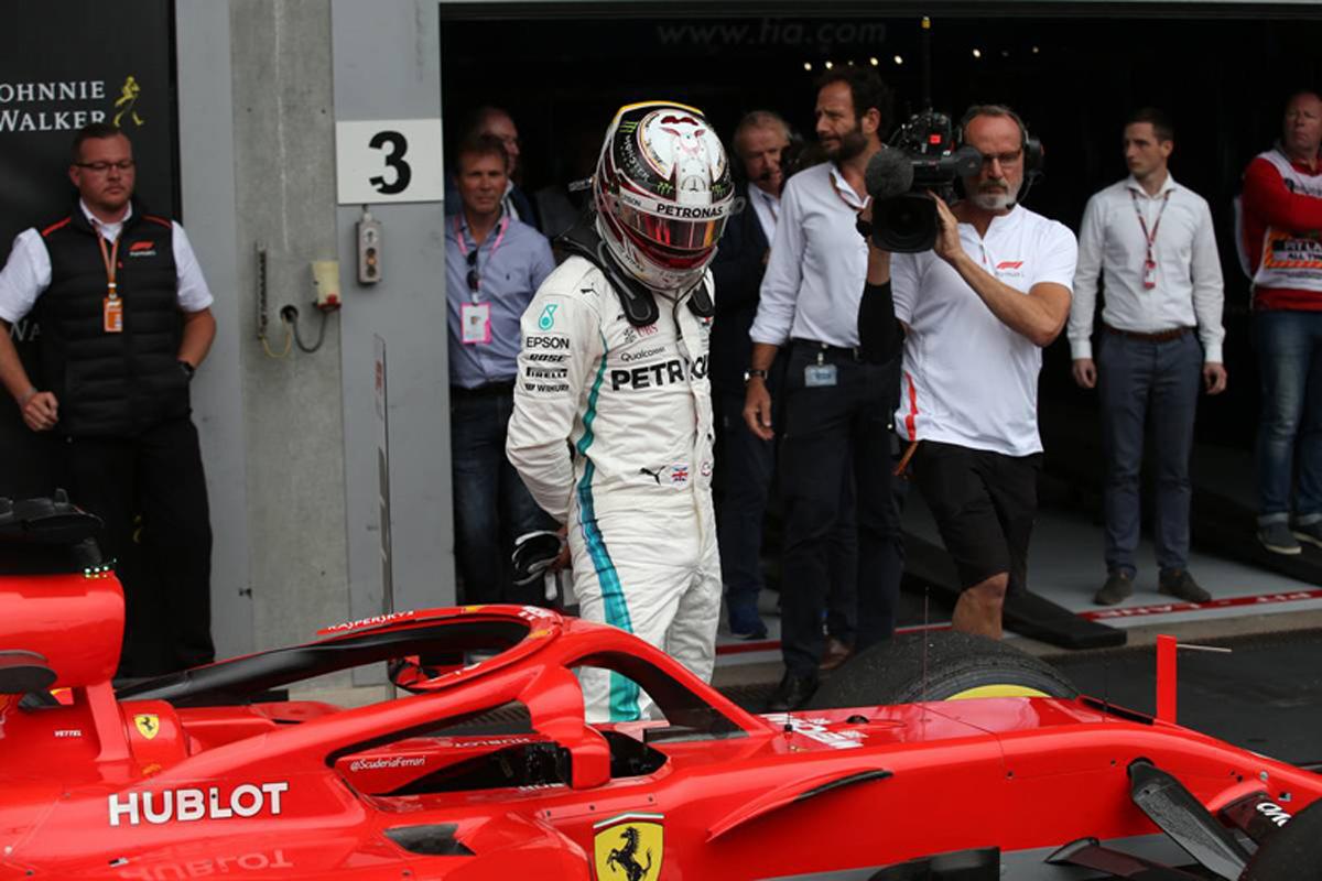 F1 ルイス・ハミルトン ベルギーGP