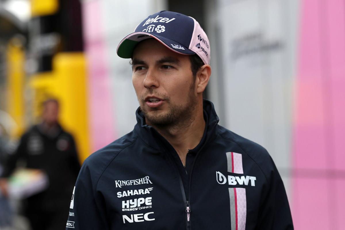 F1 セルジオ・ペレス フォース・インディア