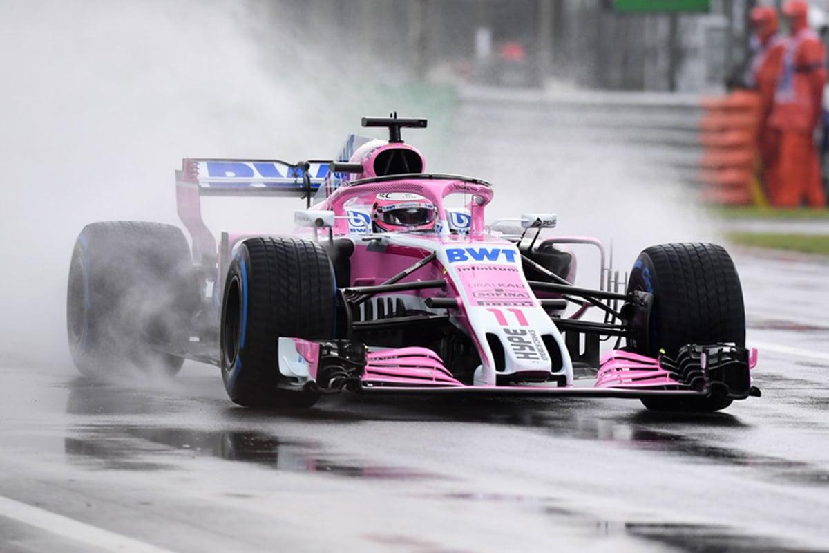 F1イタリアGP フリー走行1回目 結果