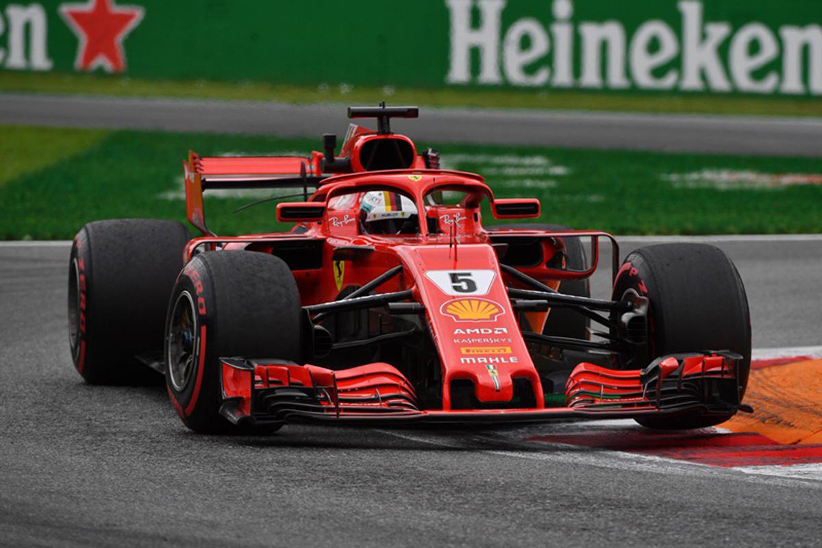 F1イタリアGP フリー走行2回目 結果