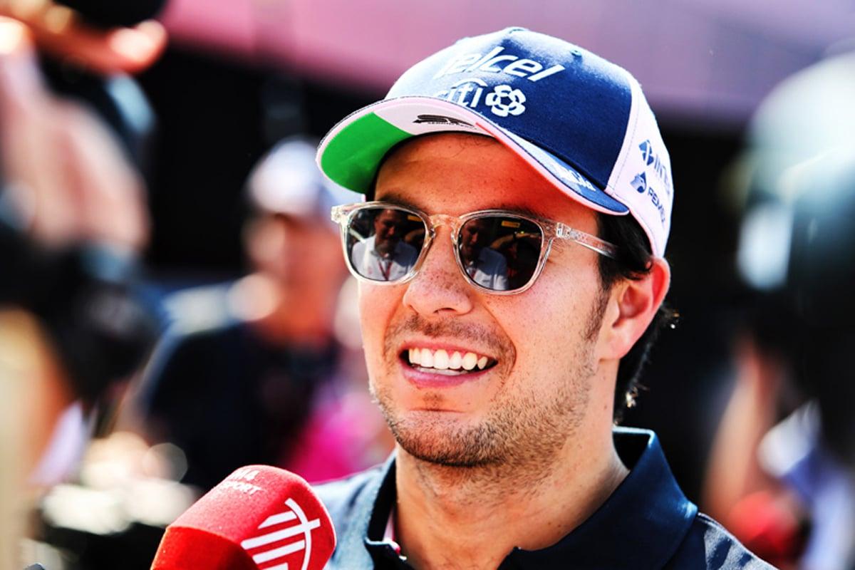 F1 セルジオ・ペレス マクラーレン