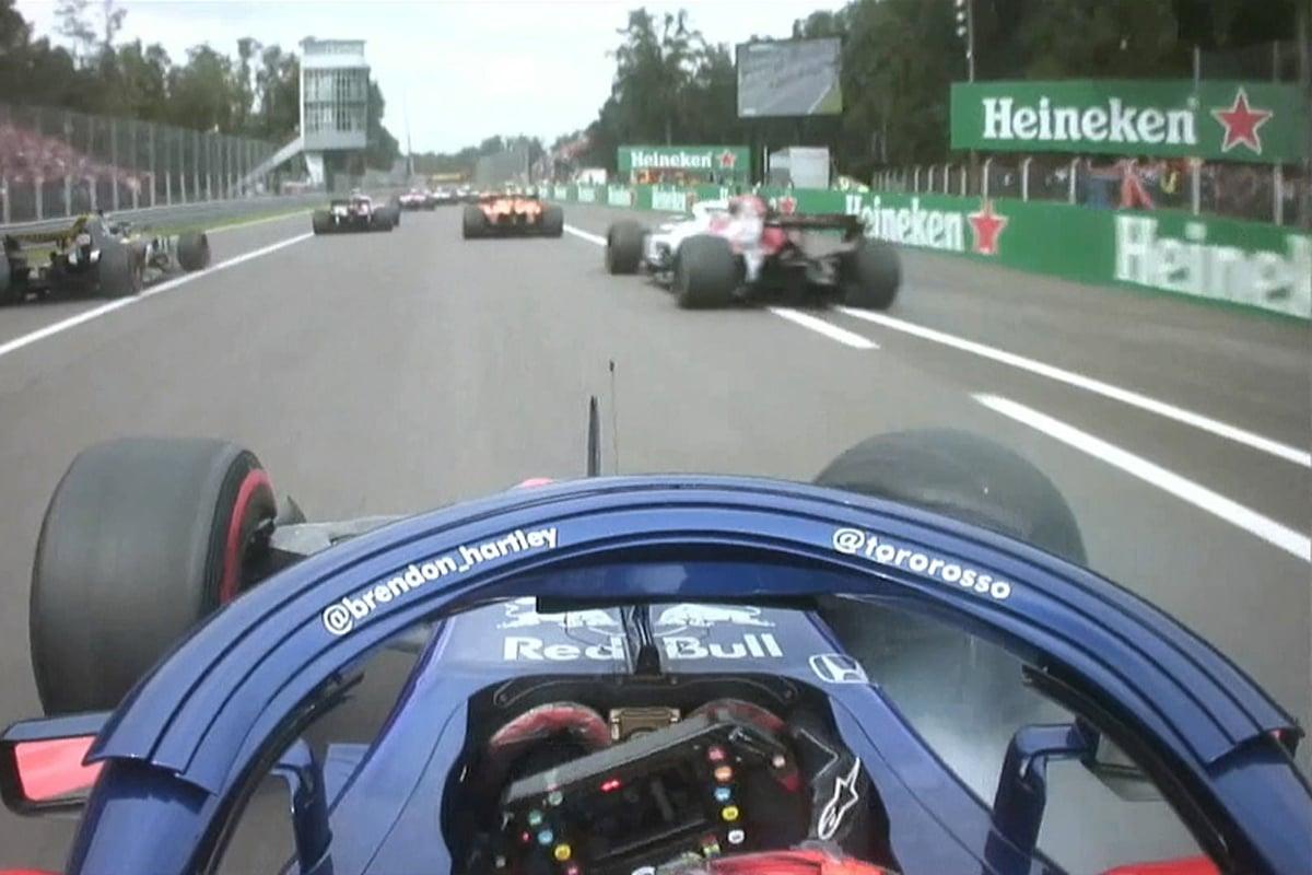 F1 ブレンドン・ハートレー トロロッソ・ホンダ イタリアGP