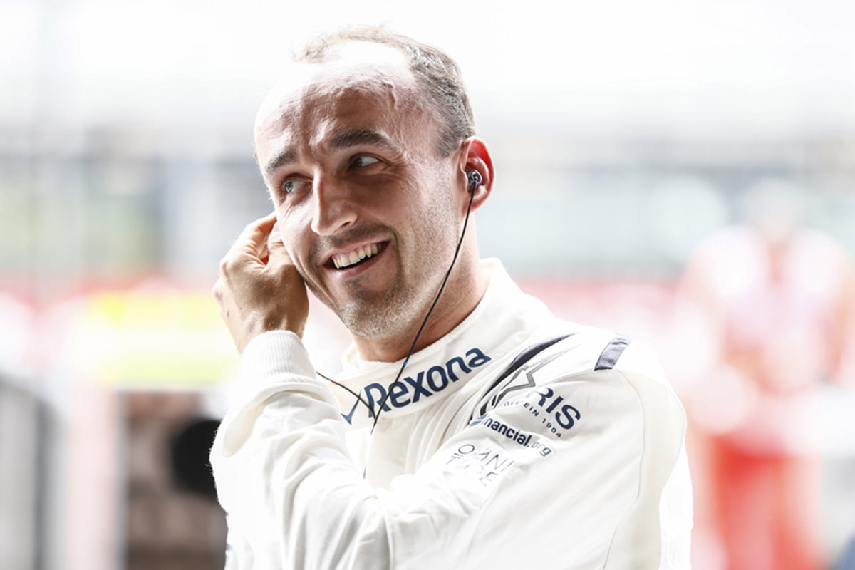 F1 ウィリアムズ ロバート・クビサ