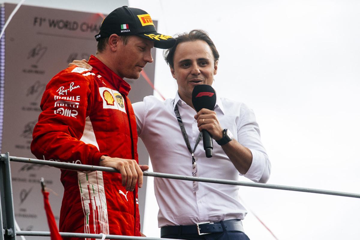 F1 キミ・ライコネン フェラーリ イタリアGP