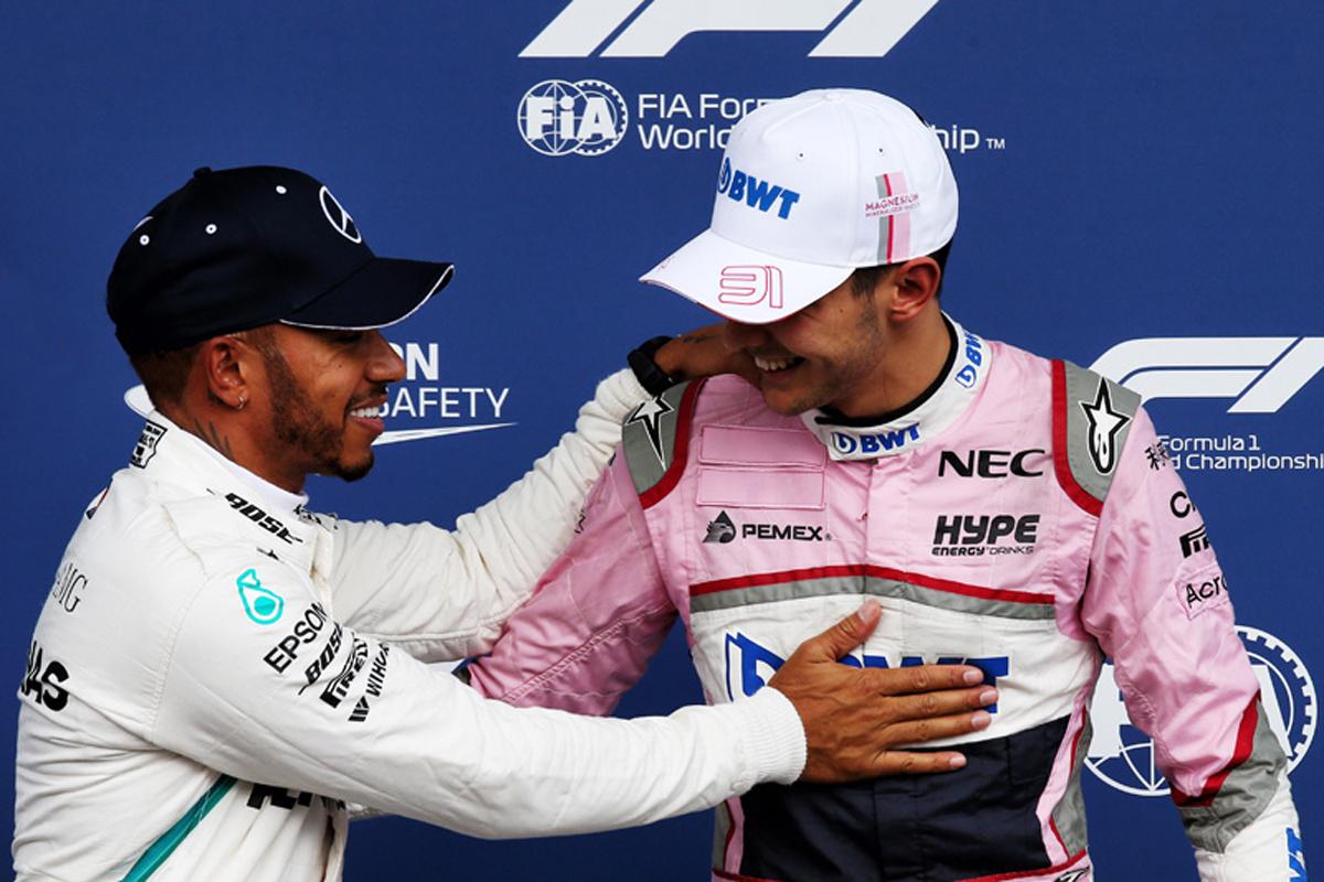 F1 マクラーレン エステバン・オコン
