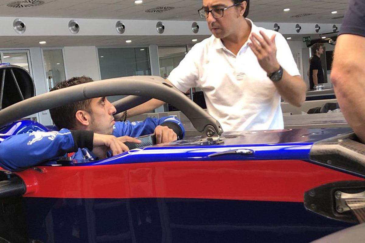 F1 セバスチャン・ブエミ トロロッソ・ホンダ