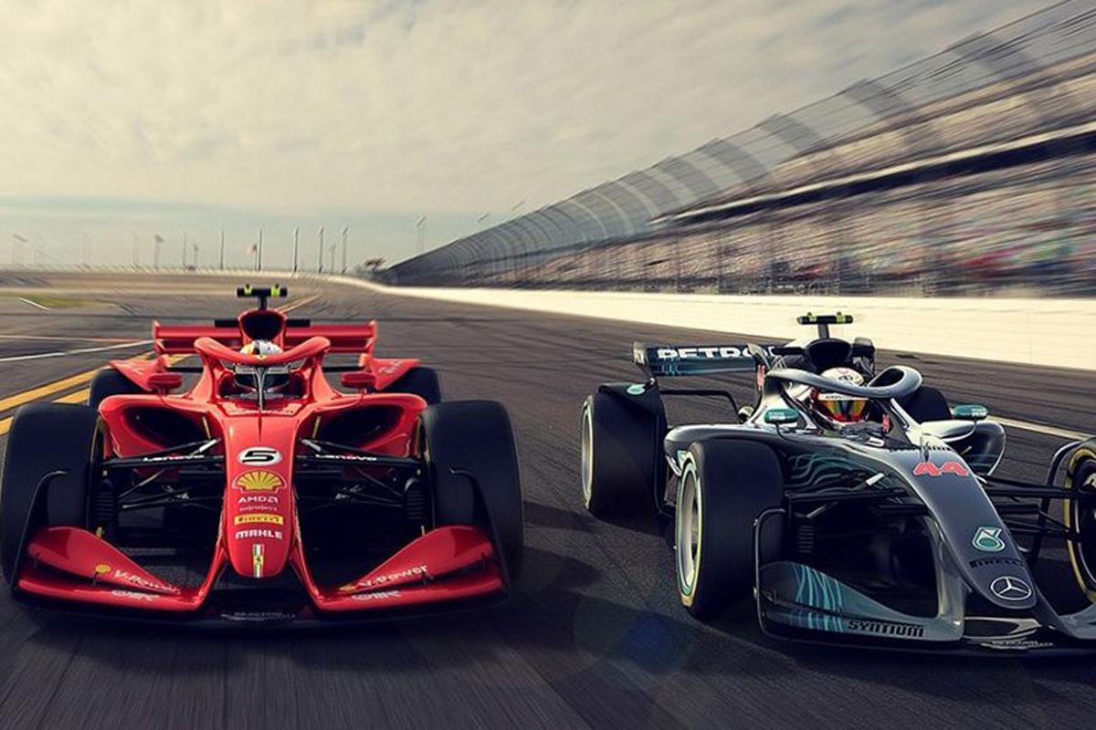F1 F1マシン