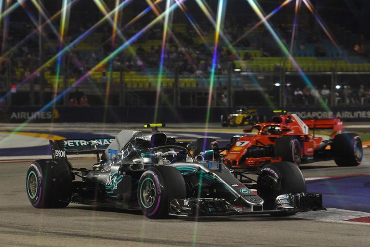 F1 シンガポールGP フリー走行2回目