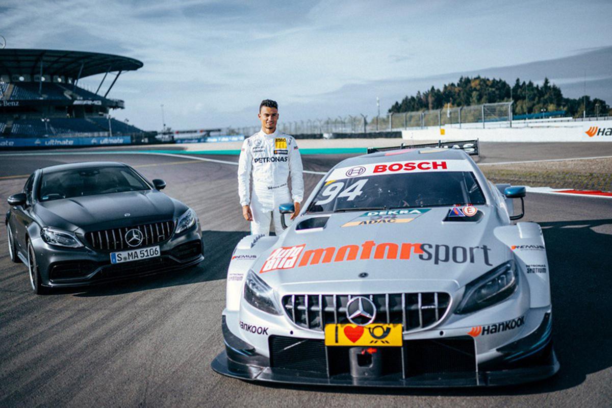 F1 パスカル・ウェーレイン メルセデス