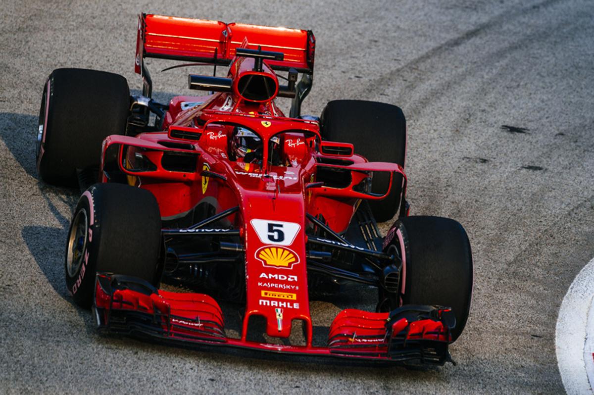 F1 シンガポールGP フリー走行3回目