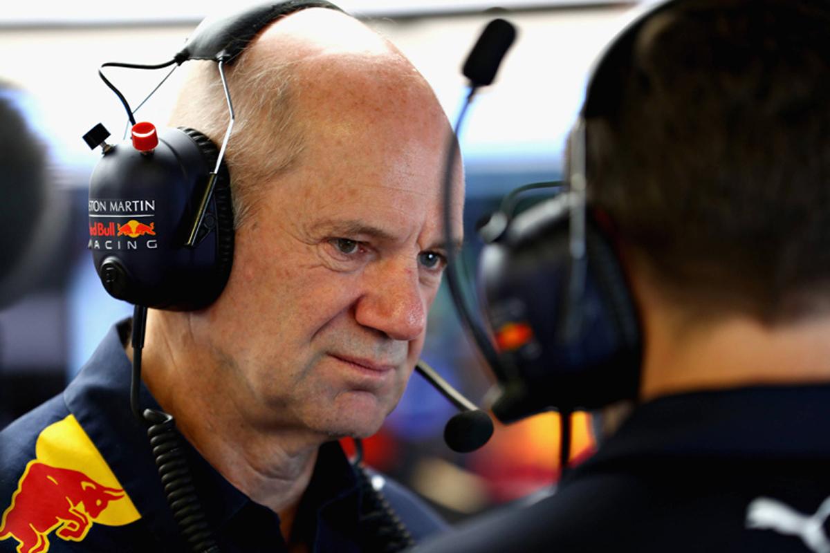 F1 エイドリアン・ニューウェイ レッドブル・ホンダ