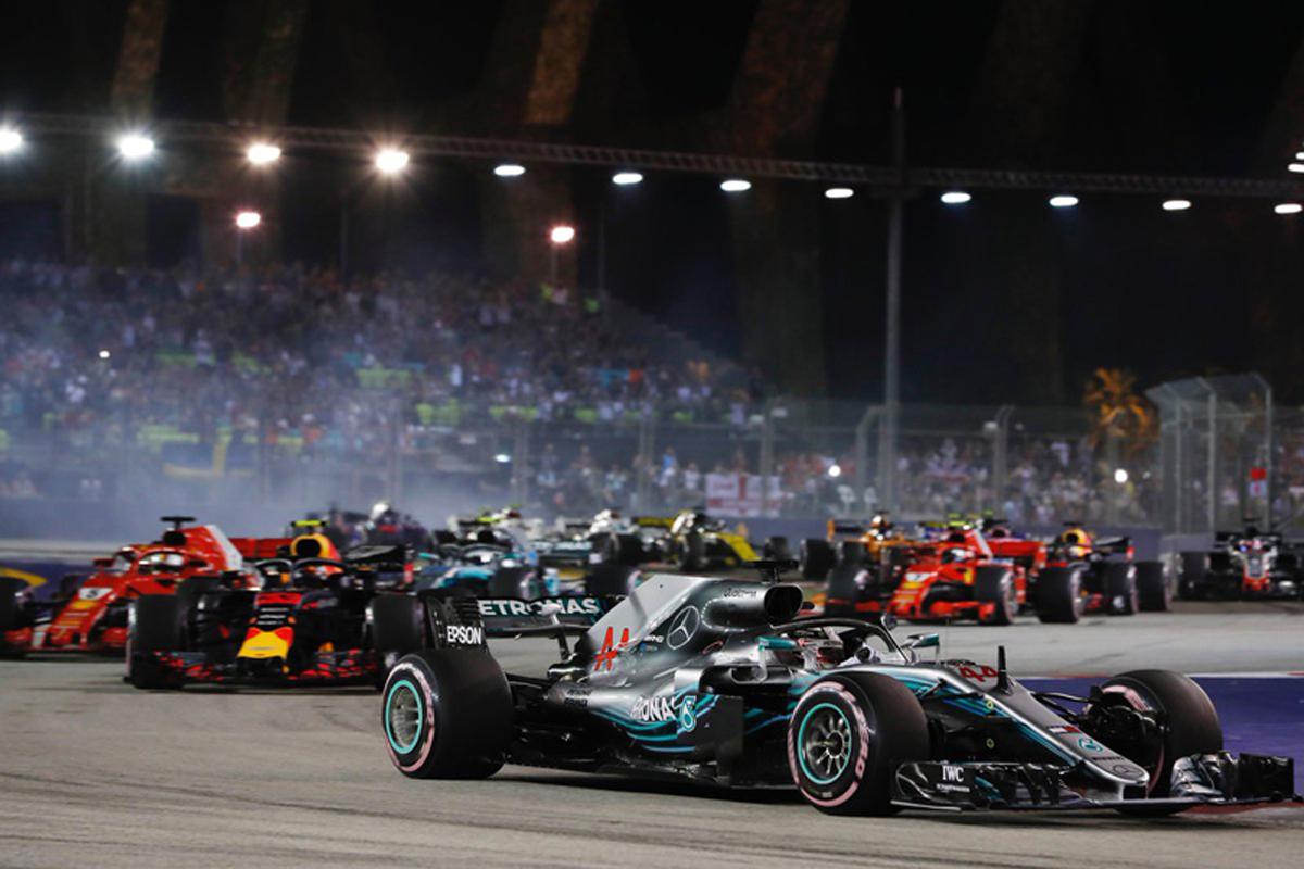 F1 シンガポールGP 結果