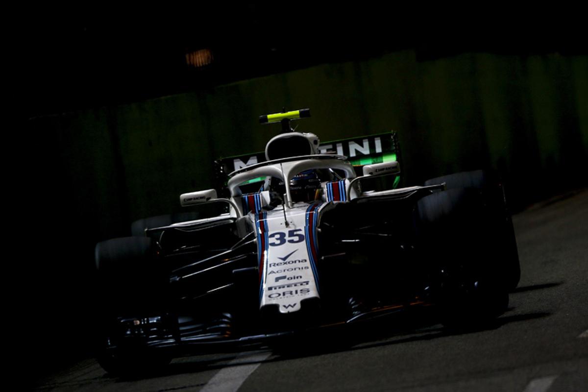 F1 ウィリアムズ シンガポールGP