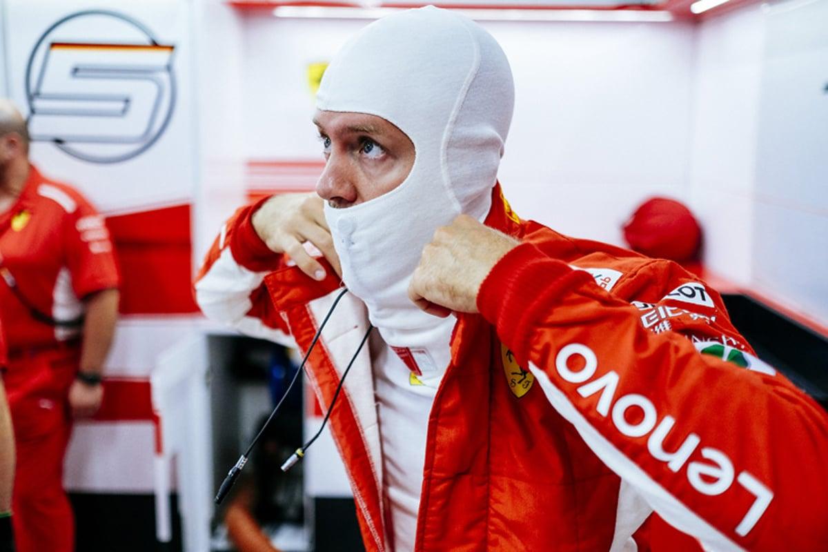 F1 セバスチャン・ベッテル シンガポールGP