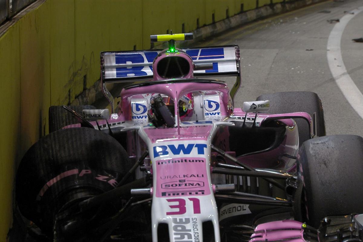 F1 フォースインディア シンガポールGP