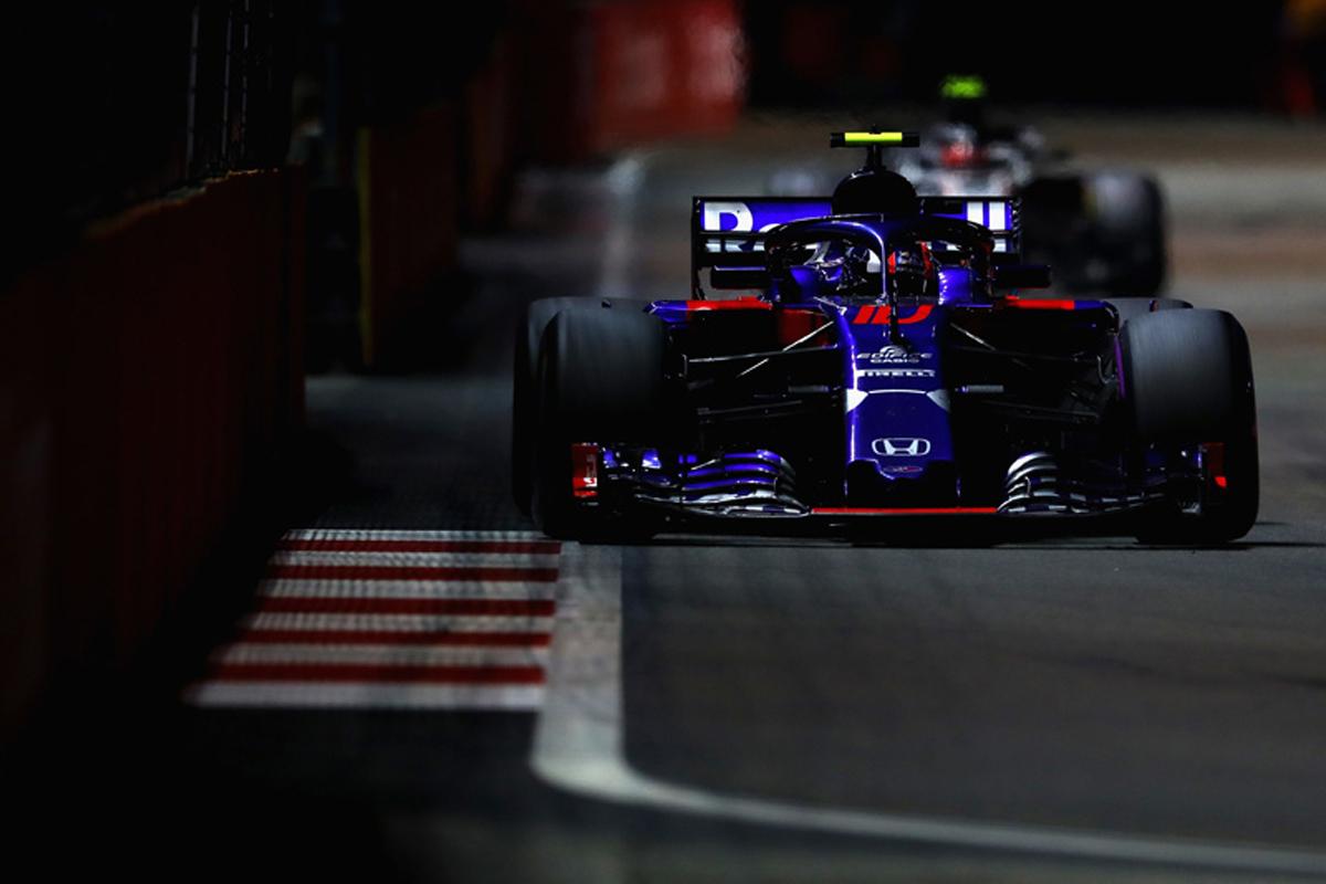 F1 トロロッソ・ホンダ シンガポールGP