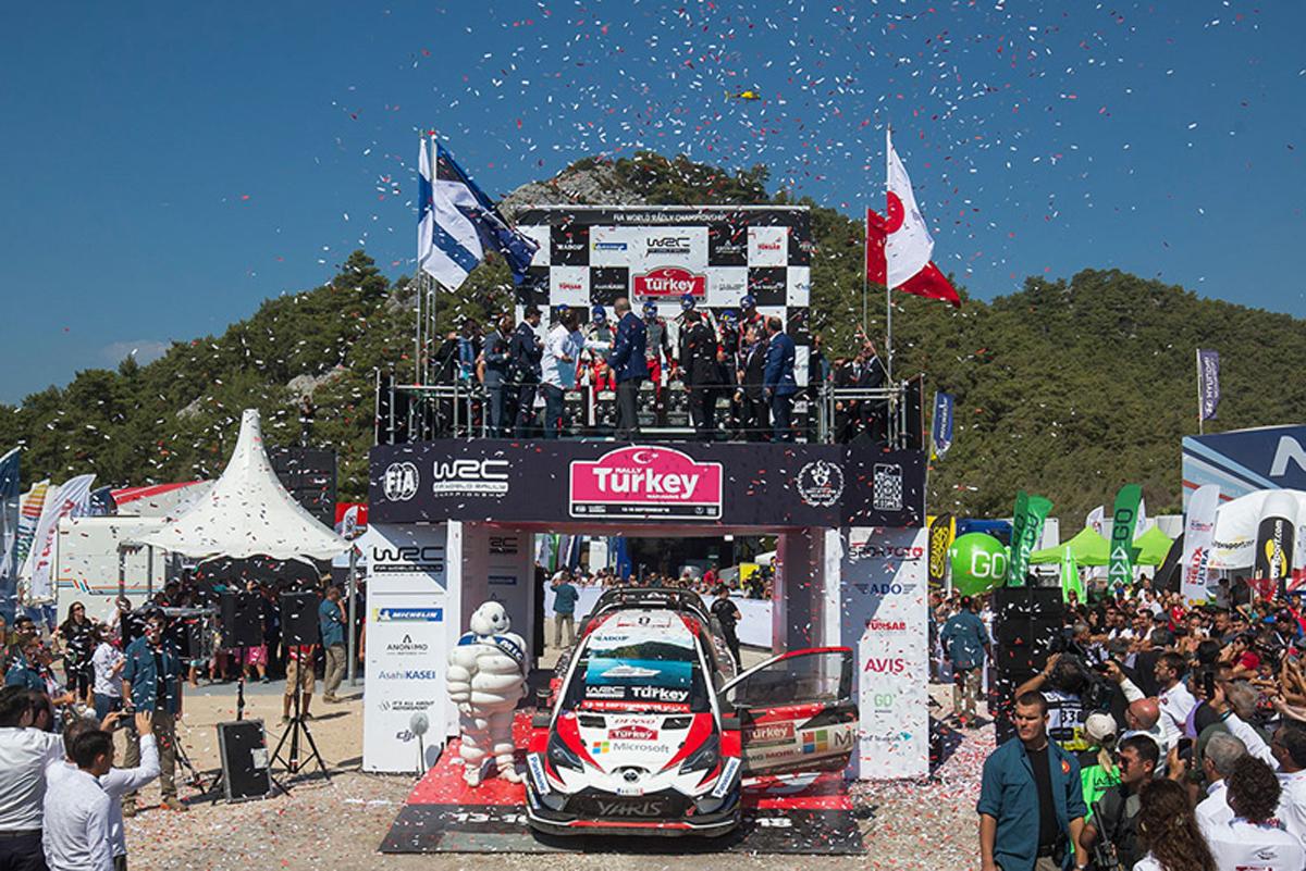 WRC ラリー・トルコ トヨタ オット・タナック