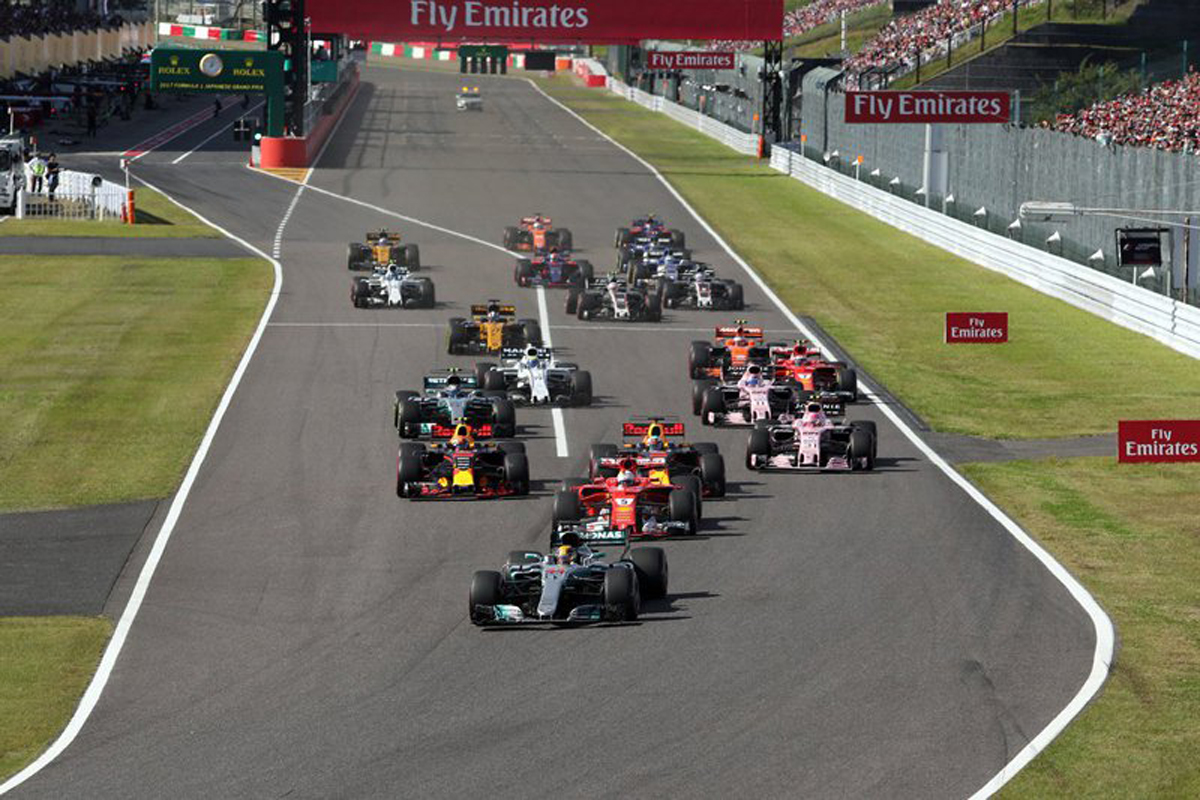 F1 日本GP テレビ番組