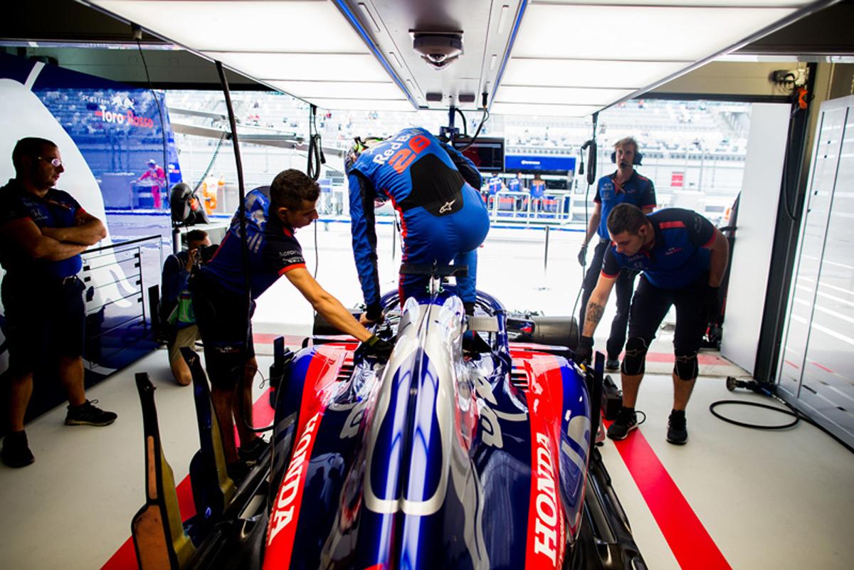 F1 ホンダF1 ロシアGP