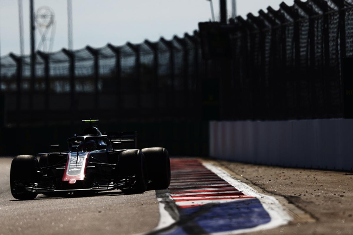 F1 ハースF1チーム ロシアGP 予選