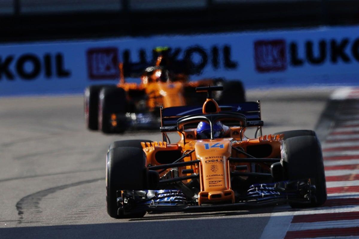 F1 マクラーレン ロシアGP 予選