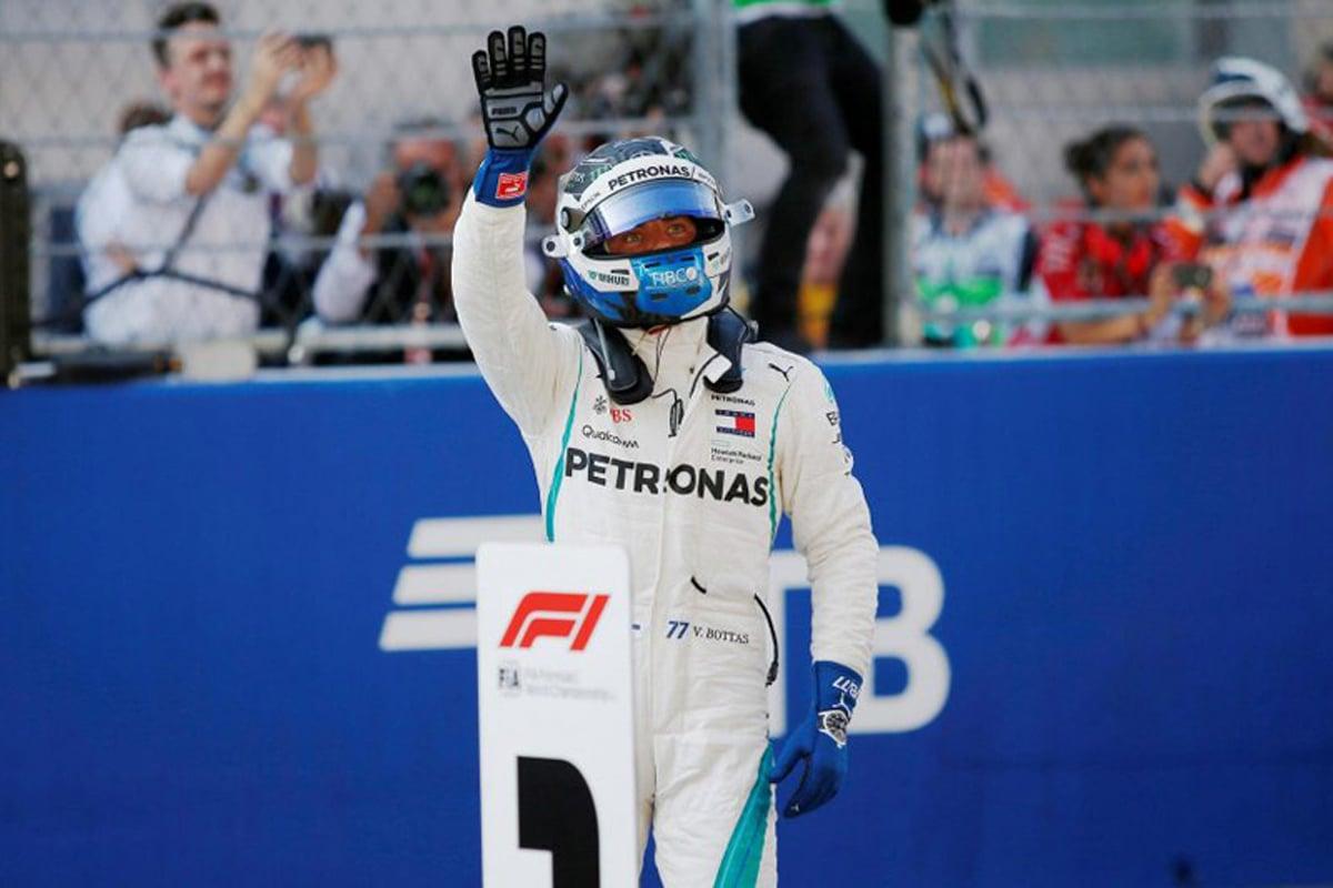 F1 メルセデス ロシアGP 予選