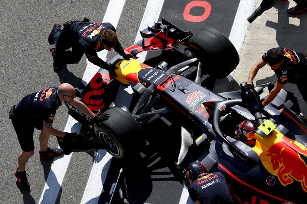 F1 レッドブル・レーシング ロシアGP 予選