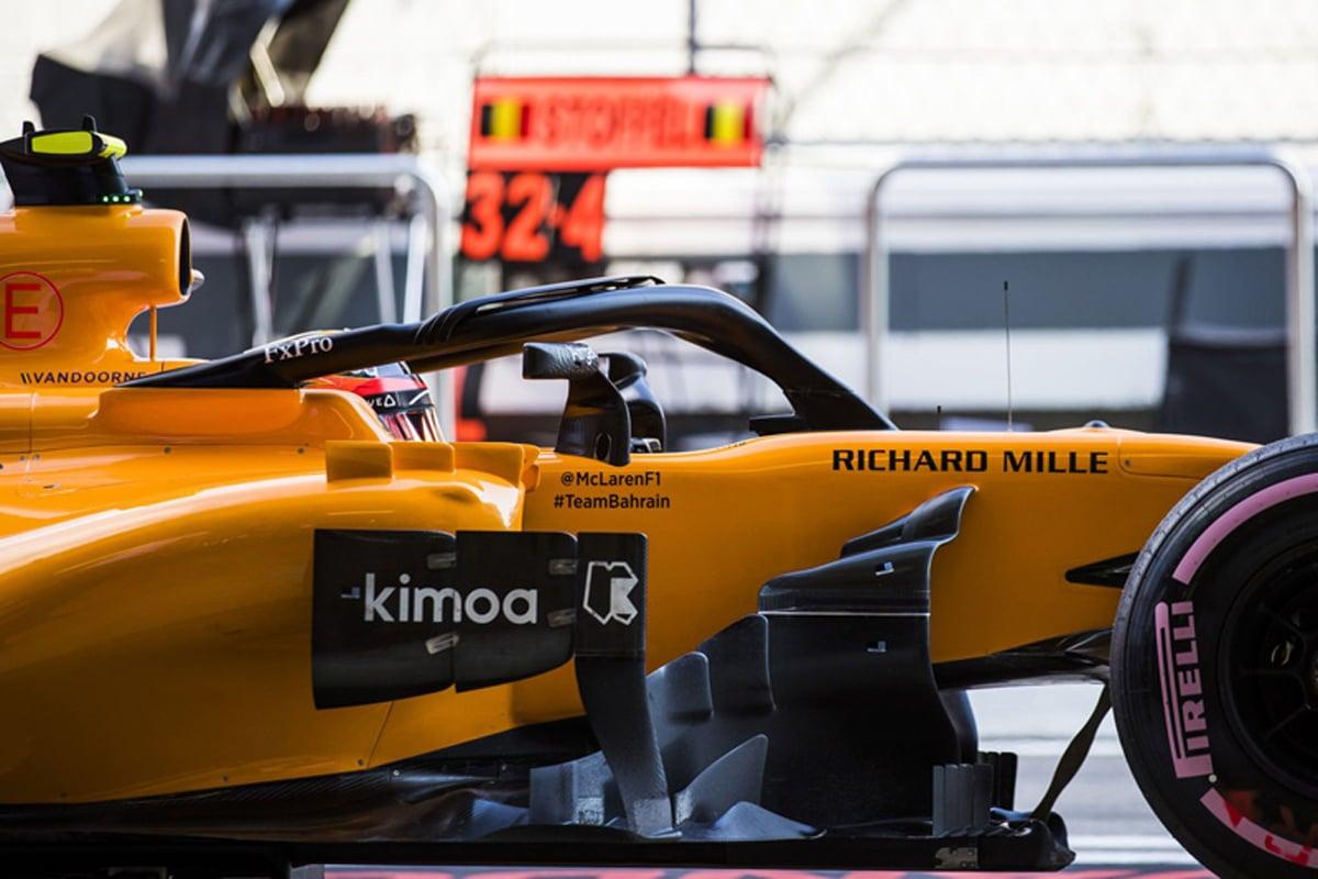 F1 ストフェル・バンドーン ロシアGP