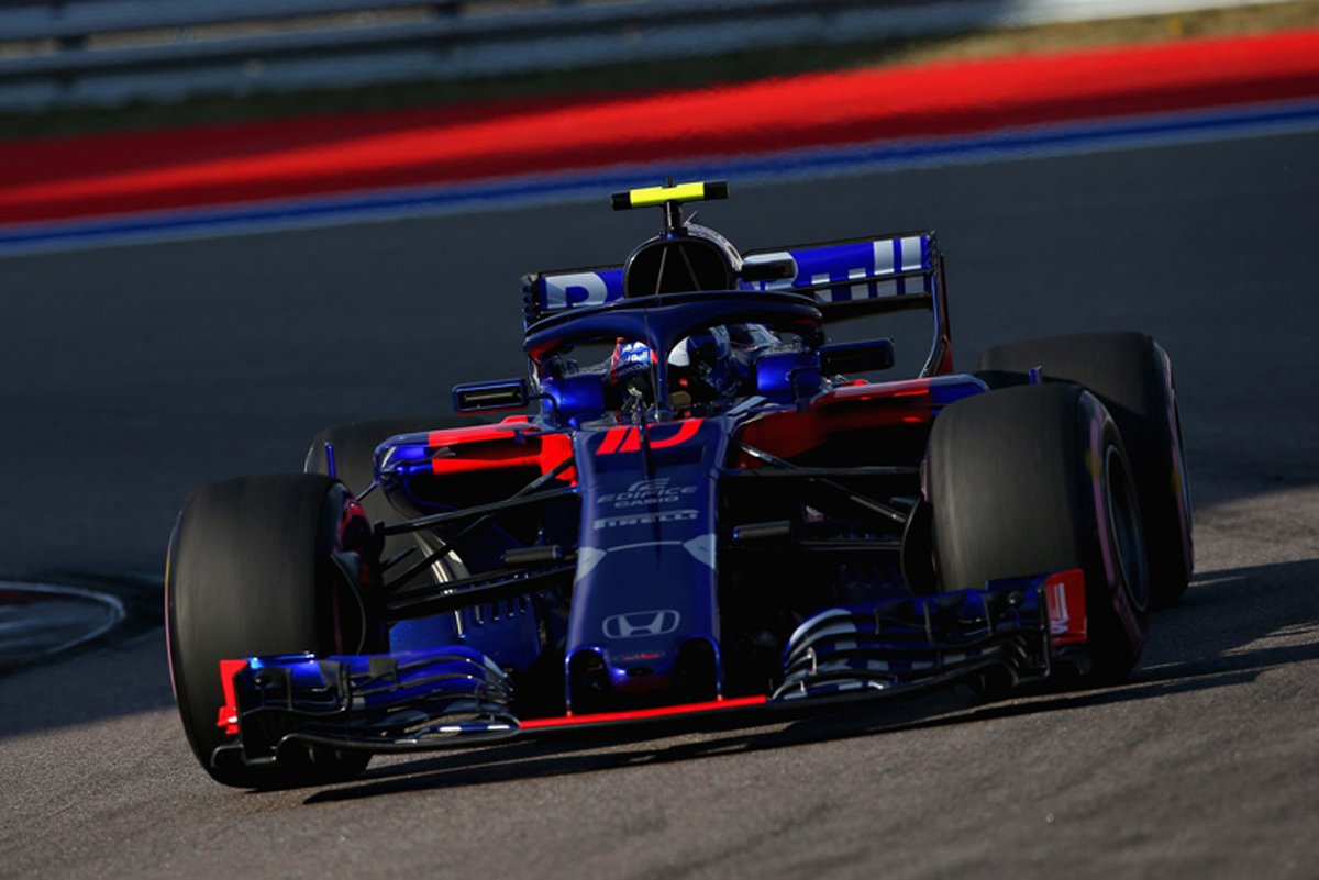 F1 トロロッソ・ホンダ ロシアGP 予選