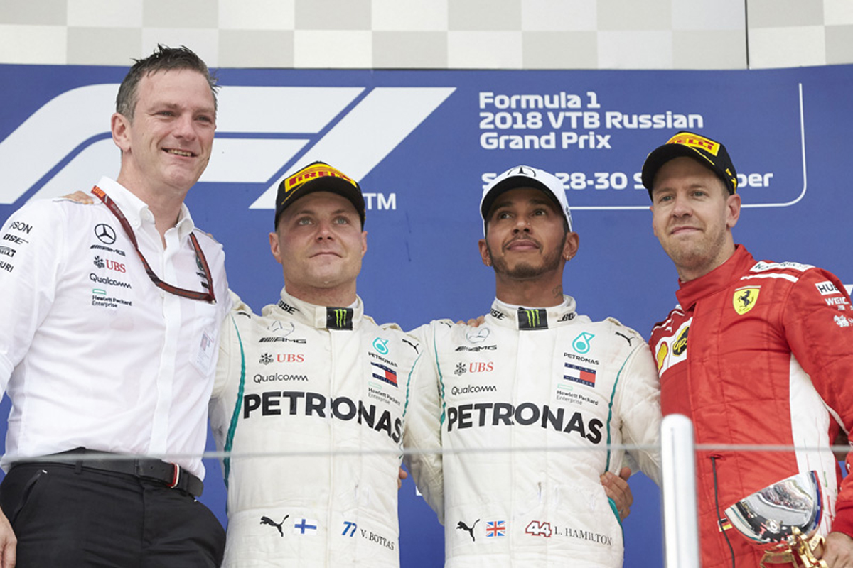 F1 ロシアGP 決勝 ドライバーコメント