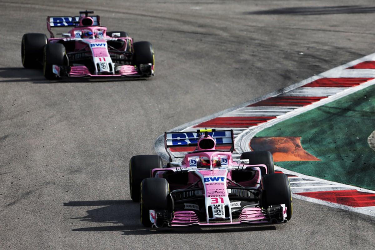 F1 フォースインディア ロシアGP