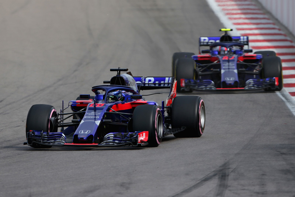 F1 トロロッソ・ホンダ ロシアGP