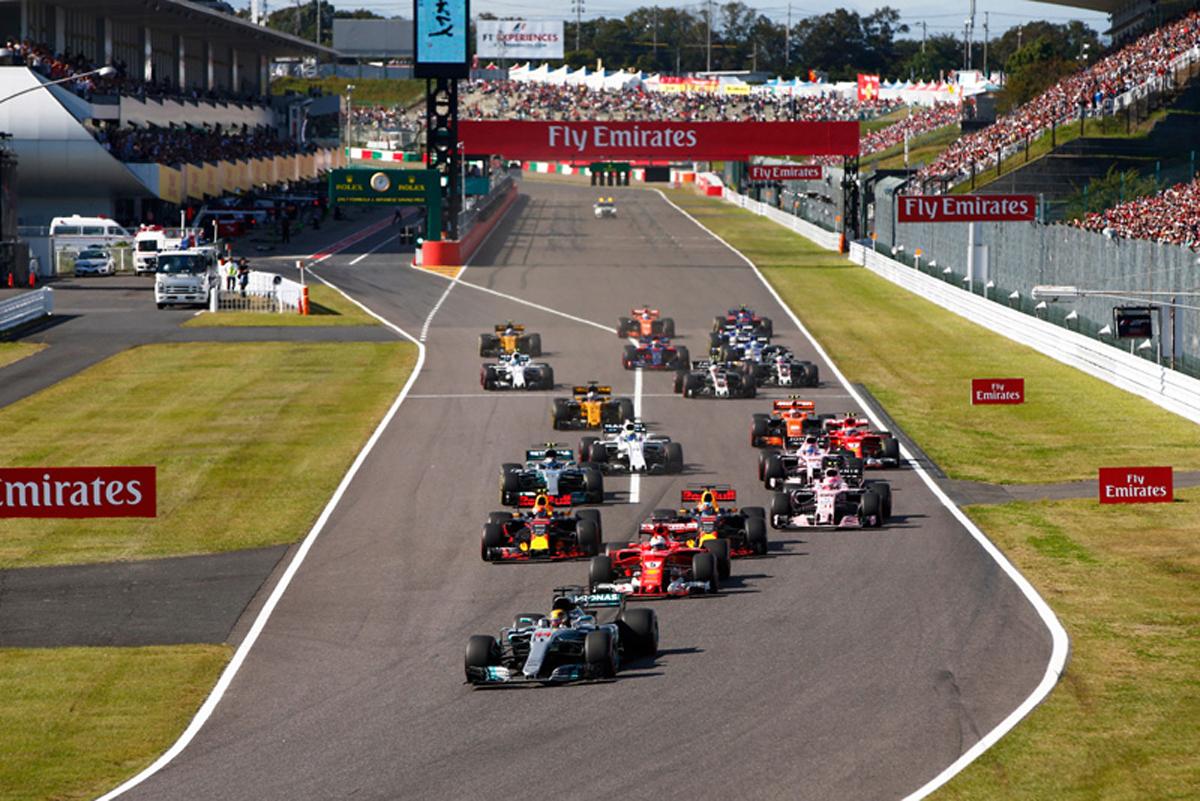 F1 日本GP テレビ放送