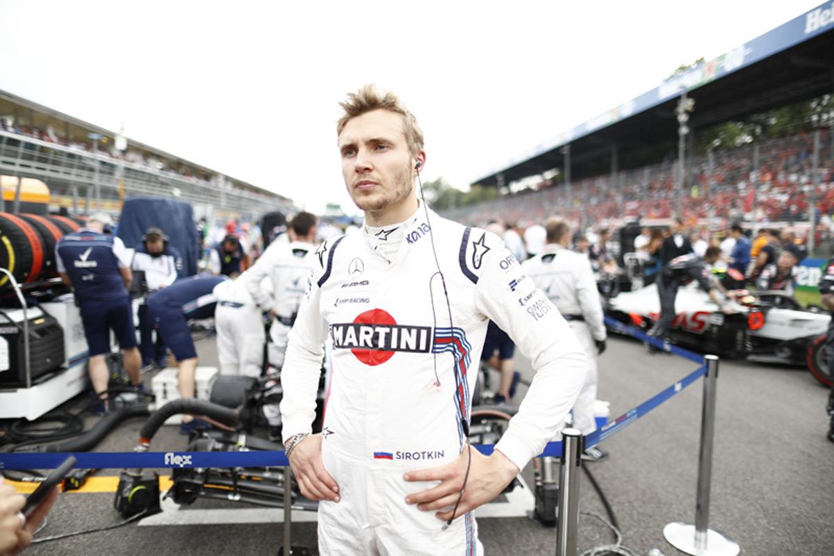 F1 セルゲイ・シロトキン ウィリアムズF1