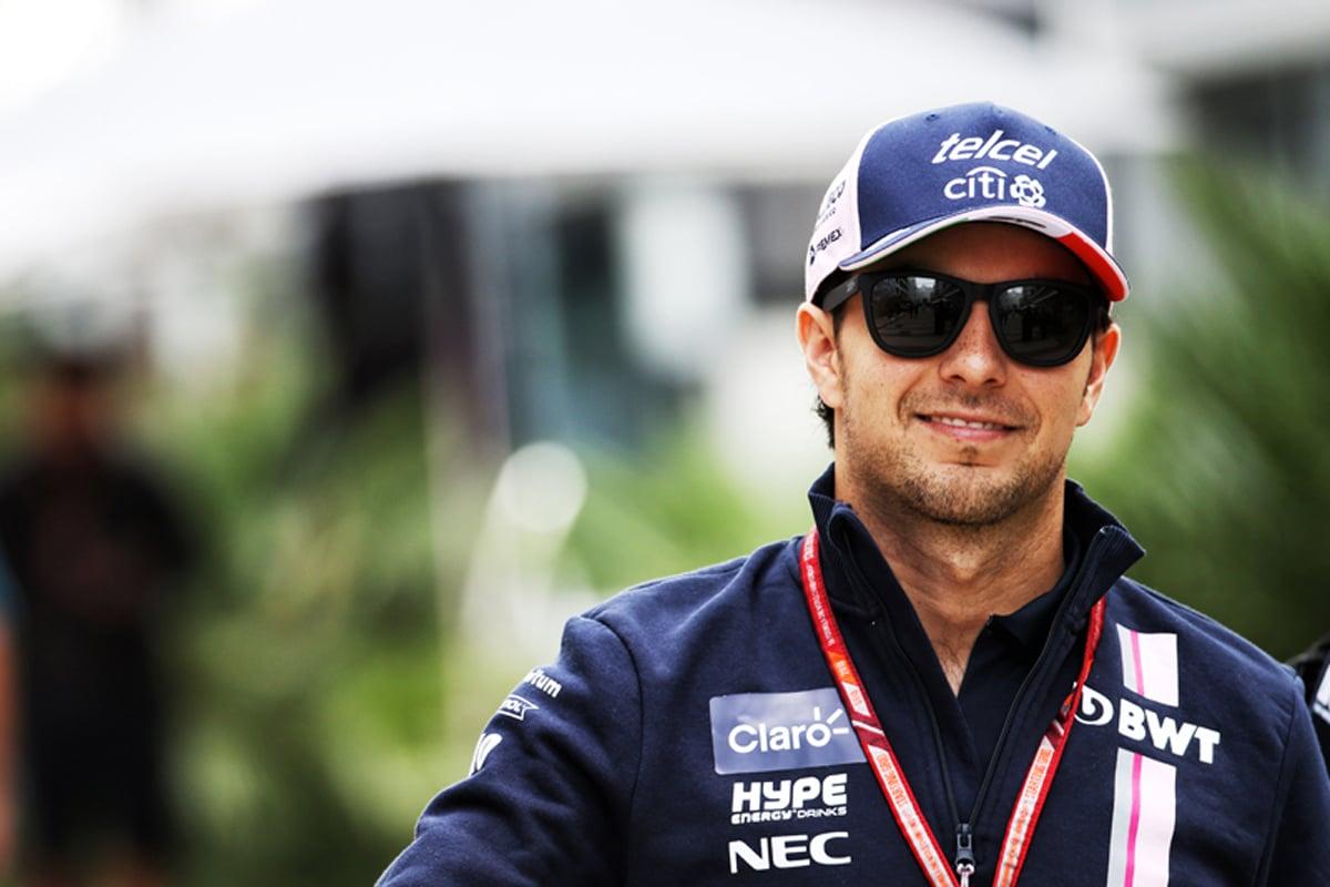 F1 セルジオ・ペレス 日本GP