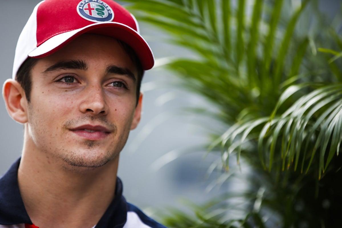 F1 シャルル・ルクレール ジュール・ビアンキ